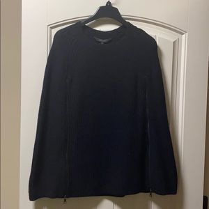 BCBG 'Sherwin' black sweater